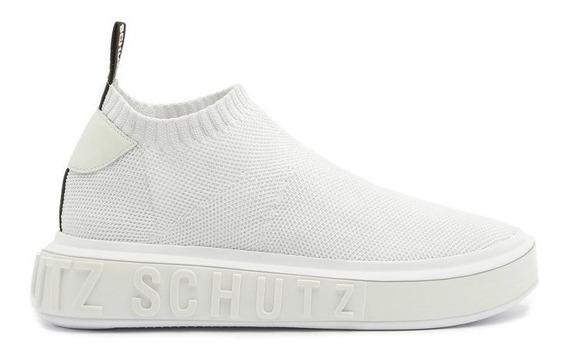 Tenis Schutz Sneaker It Bold Knit White