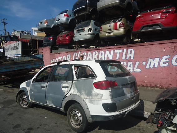 Sucata Vw Palio Weekend Trekking Motor 1.6 E-torq Cambio Etc
