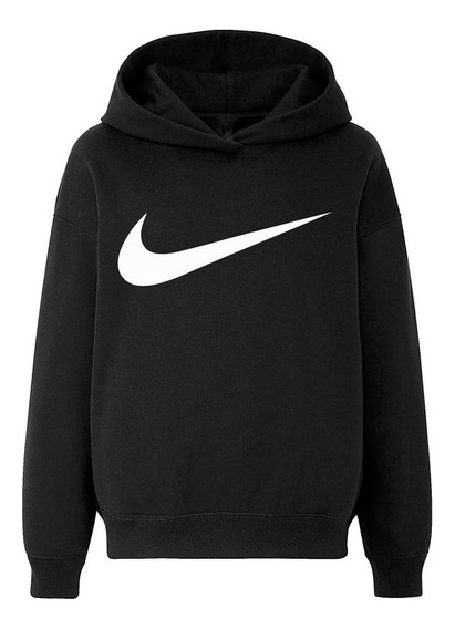 Moletom Nike Logo Simply Basic Sportwear Tee Blusa De Frio