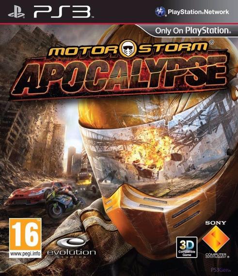 Motorstorm Apocalypse Original Ps3 Midia Fisica
