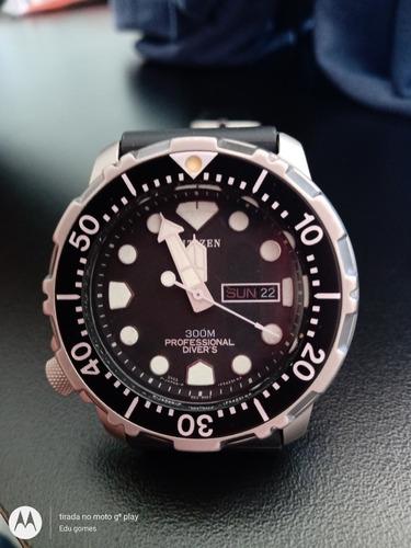 Citizen Tuna Titanium 300m Antigo