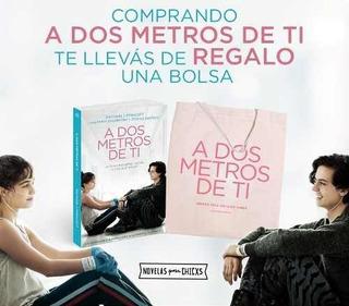 Libro - A Dos Metros De Ti + Bolsa De Regalo - Rachael Lippi
