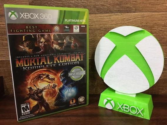 Mortal Kombat Komplete Edition Xbox 360 Mídia Física