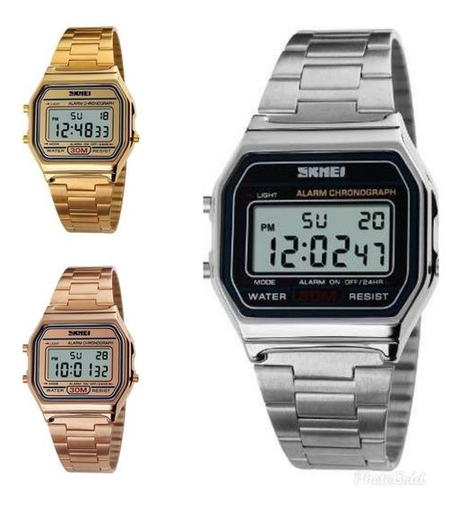 Relógio Feminino Digital Skmei 1123 A Prova D