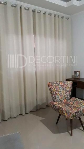 Cortina Gaze De Linho E Forro Sala/quarto Glm 3.0 M X 2.6 M