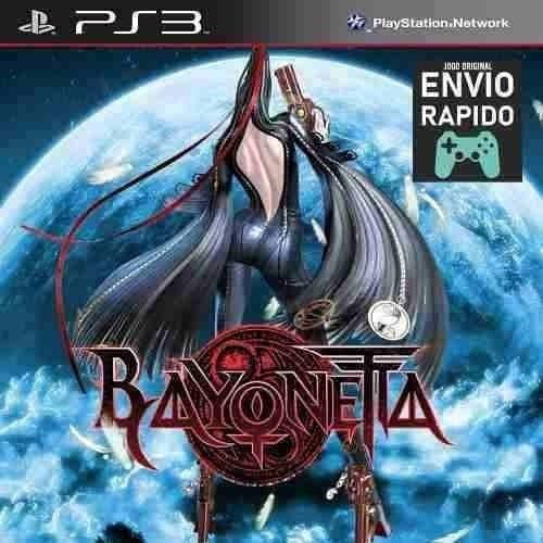 Bayonetta - Jogos Ps3 Original Psn