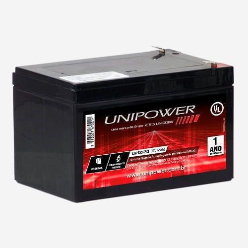 Bateria Selada Unipower Up12120 Nobreak Eq. Médico 12v 12a