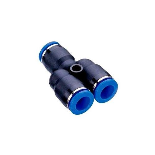 Imagem 1 de 3 de Conexão Instantânea União Em Y 08mm - Kit 10 Pçs