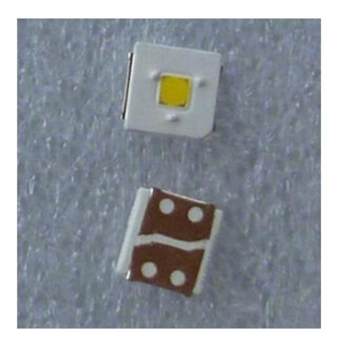 Imagen 1 de 2 de Pack 50 Led 3v 2.4w 3535 Simetrico Tiras Backlight 3 Picos