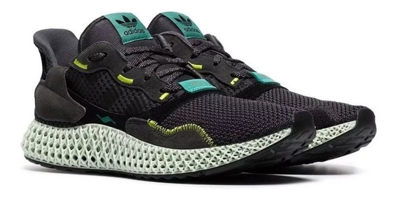Tenis adidas Zx 4000 4d Carbon Casual Yeezy Boost Original