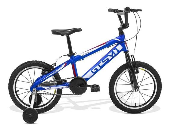 Bicicleta Infantil Gts M1 Aro 16 Freio V-brake Adv New Kids