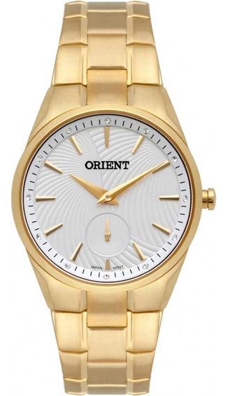 Relogio Orient Feminino Dourado A Prova Dagua Fgss0122 S1kx