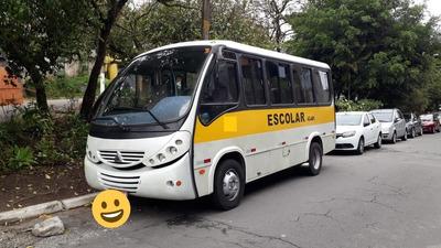 Micro Ônibus Thander Way Escolar 25 Lug Ano 2001 Mwm