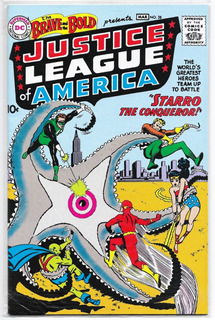 Justice League Of America #28 Reimpresión Starro Lootcrate