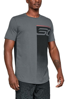 Remera Sc30 Logo Fade Away Under Armour