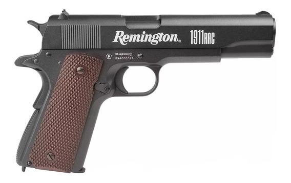 Pistola Pressão 4.5 Co2 Remington 1911rac Blowback Fullmetal