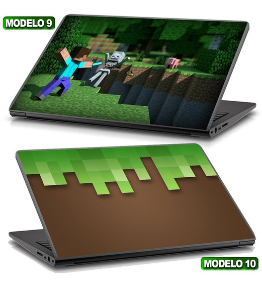 Adesivo Notebook Skin Mine Oferta Compre Já Gamer Craft