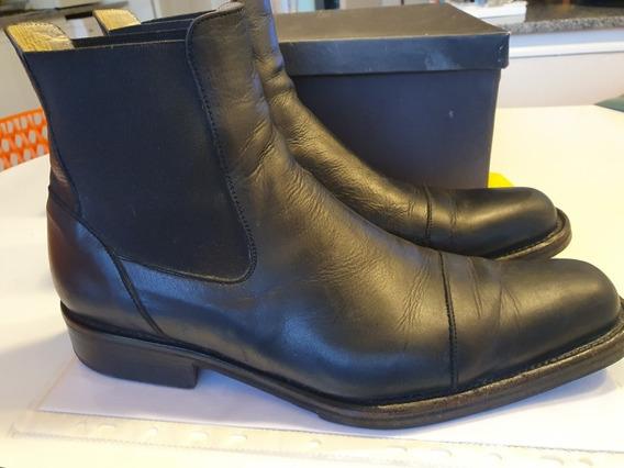 Zapatos De Hombre Tipo Bota De Cuero Marca Prego Talle 44