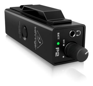Amplificador Auriculares Monitor In Ear Behringer P2