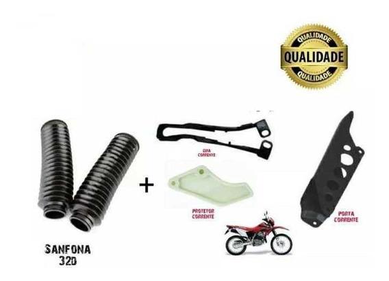 Protetor Corrente+ Guia + Porta Corrente + Sanfona Tornado