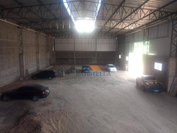 Barracão Para Alugar, 980 M² Por R$ 15.000,00/mês - Jardim Do Lago - Limeira/sp - Ba0080