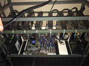 Rig Para Mineração 8 Placas Rx470 Sapphire - Muito Novo!