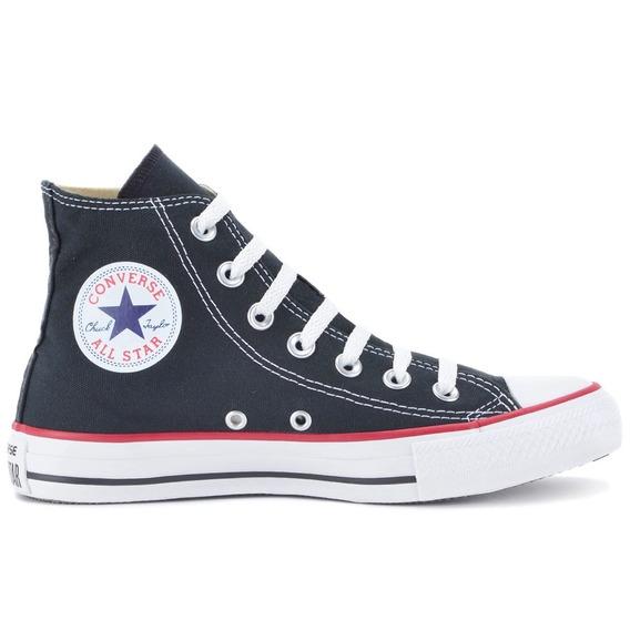 Tênis Coturno All Star Converse Preto - Até 12x Sem Juros