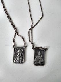 Escapulario Em Prata Benzido No Santuario Padre Réus