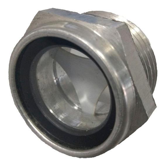 Visor De Nível De Oleo Aluminio Rosca 1/2 Bsp