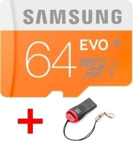 Cartão Micro Sd 64gb Samsung Evo Frete 10 Reais