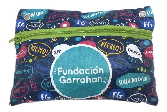 Eco Cartuchera Azul - Fundación Garrahan