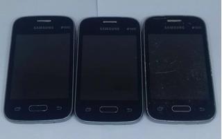 1° Samsung Galaxy G110b/ds Preto Com Defeito Sem Garantia