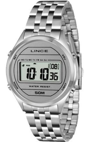Relógio Feminino Lince Sdph023l Digital Quartz Urbano