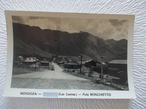8622- Antigua Foto- Postal Mendoza- Eva Peron Ronchietto