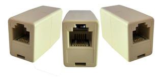 Emenda Adaptador Rj11 Extensor Distribuidor Telefone Cabo