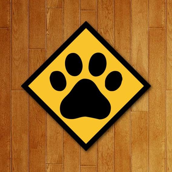 Placa Decorativa - Pata Dog Cão Cachorro