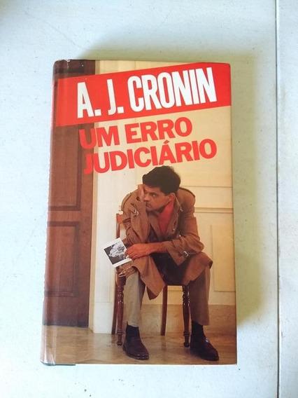Um Erro Judiciário A. J. Cronin 1987 Círculo Do Livro