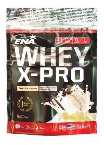 Ena Whey X Pro 453g Proteína Potenciada Con Creatina Bcaa