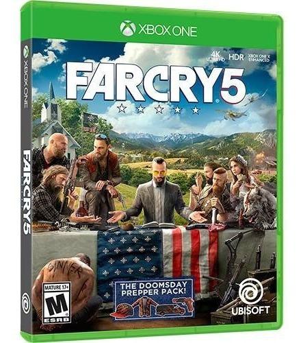 Far Cry 5 Xbox One Mídia Física Novo Português