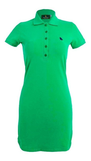 Vestido Para Dama, Polo Club Of Berkshire / Verde