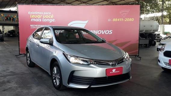 Toyota Corolla 1.8 Gli Upper 16v Flex 4p Automático 2018/201