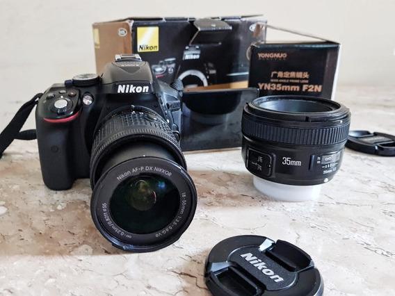 Nikon D5300 + Lente 35mm Yongnuo