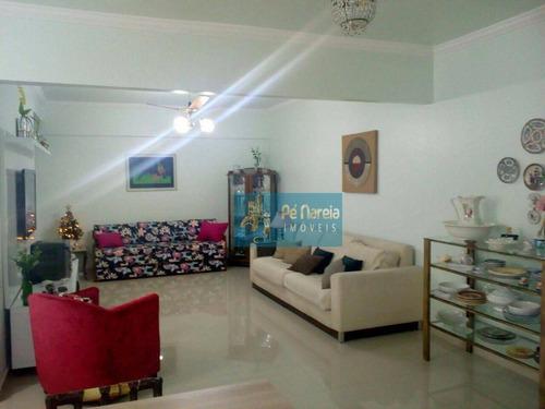 Apartamento Com 2 Dormitórios À Venda, 105 M² Por R$ 530.000,00 - Canto Do Forte - Praia Grande/sp - Ap0249