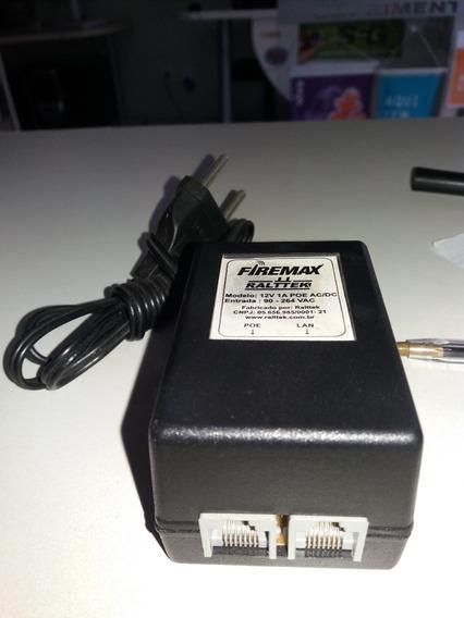 Fonte Chaveada 12v/1a Poe -volt Firemax Ralttek