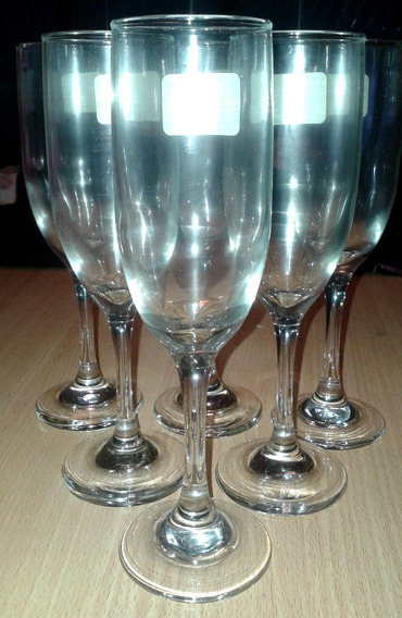 Copas Champagne Poco Uso Y Nuevas Son 6 Precio Es Por Unidad
