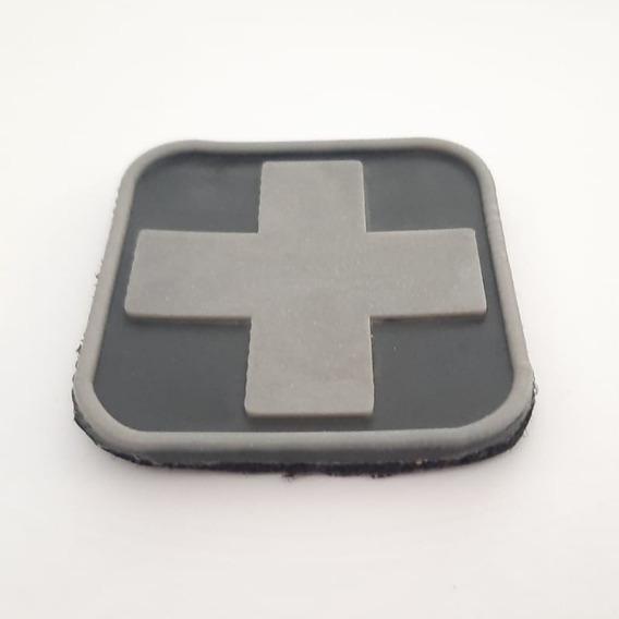 Parche Cruz Medico Primeros Auxilios Pvc Baja Visibilidad