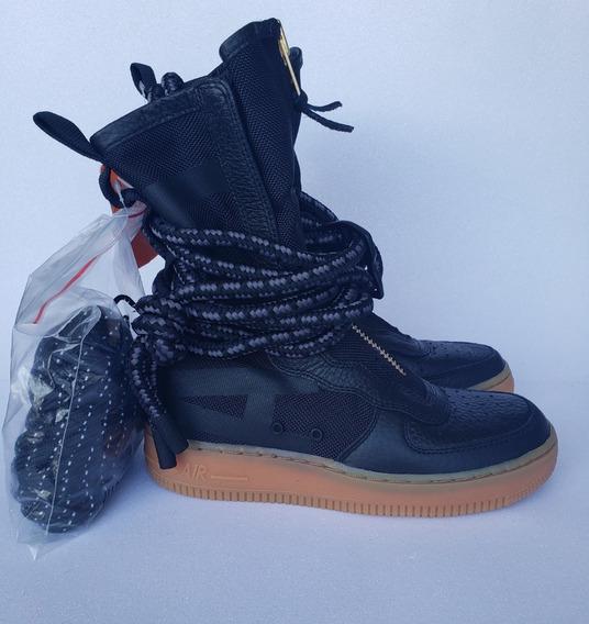 Tênis Nike Sf Air Force 1 Hi Cano Alto Original