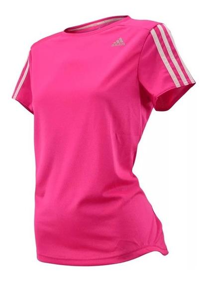 Remera adidas Mujer Clima Oz Tee Running Original Rosa