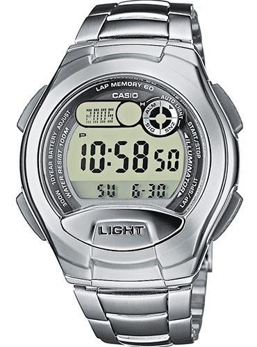 Relógio Digital Original Casio W-752 Prata