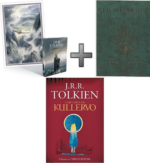 Coleção Tolkien 3 Livros Filhos Hurin; Hist Fadas; Kullervo